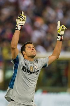 Julio Cesar- goalkeeper for Brazil