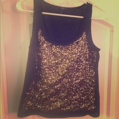 Talbots Sequin Tank Talbots sequin tank perfect for a night out. In good condition. Talbots Tops Tank Tops