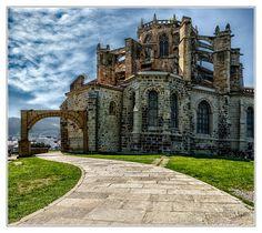 Castro-Urdiales - Church in Castro-Urdiales, Spain