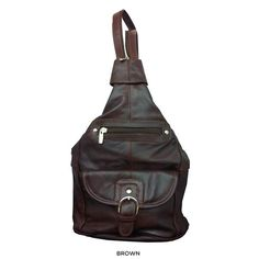 I found this amazing Genuine Leather Backpack with Convertible ...