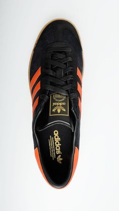 ADIDAS - Black and orange Hamburg