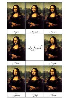 La Joconde et les adjectifs descriptifs