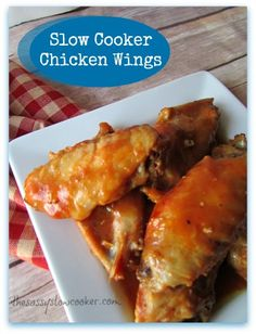 Chicken Wings in Crock Pot, Anyone?