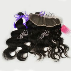 Cheap bundles of brazilian hair body wave and 13x4 lace frontal mixed natural color 100% virgin human hair weave free shipping $179.65 - 307.55