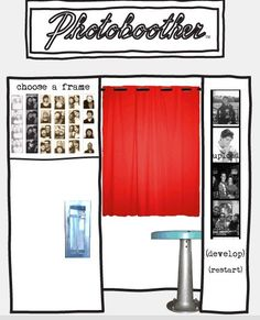 Website that turns photos into photo booth strips. Shellie was just saying she wanted a photo booth strip wedding invite.