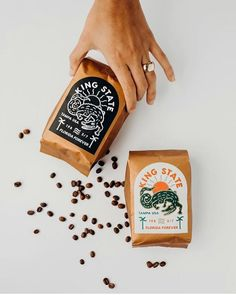 We'll take any time of the day. Cool Packaging, Vintage Packaging, Food Packaging Design, Coffee Packaging, Print Packaging, Packaging Design Inspiration, Chocolate Packaging, Bottle Packaging, Product Packaging