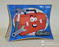 Jeanne's Paper Crafts: PPPR DT :: Hey Man!