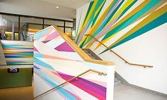 Princeton University - Odita mural a vibrant addition to new ...