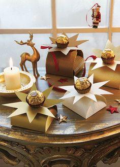 Dekorieren und Schenken mit den Pralinen von Ferrero - Geschenke