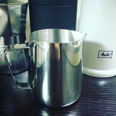 Just arrived from Amazon. New addition to my coffee shiz collection! Can't wait to try it out  #milkjug #milkpitcher #coffee #latteartsoon #mokapot #aeropress #forlatteart http://ift.tt/1Vbg53z