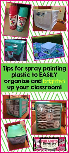 First time trying spray paint? Tips to help you become a pro at spray painting plastic.