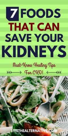 Food For Kidney Health, Healthy Kidney Diet, Healthy Kidneys, Kidney Foods, Healthy Eats, Kidney Patient Diet, Chronic Kidney Disease, Diet For Kidney Disease, Kidney Failure Symptoms