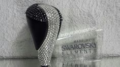 Lexus Gear knob partially embellished with Genuine SWAROVSKI® ELEMENTS. itCrystalicious® Please email info@itscrystalicious.com for details or to order.
