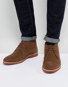 Red Tape Chukka Boots Brown Suede a6ace841d