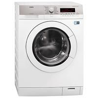 Buy AEG Freestanding Washing Machine, Load, A+++ Energy Rating, Spin, White from our Washing Machines range at John Lewis & Partners. Display Lcd, Washing Detergent, Front Load Washer, White Appliances, Bosch, Laundry Room, Washing Machines, Products