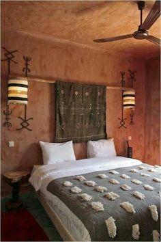 Pink Bedrooms, Roomspiration, Wabi Sabi, Bohemian Decor, Marrakech, Morocco, Warm, Bedroom Inspiration, House Styles