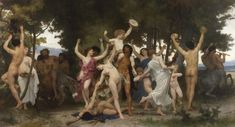 Sotheby's is pleased to announce that the most important work of French Academic painter William-Adolphe Bouguereau's celebrated career, La Jeunesse de Bacchus, will highlight our Impressionist &. William Adolphe Bouguereau, Renaissance, Modern Art, Contemporary Art, Gustave Courbet, Roman Art, Bacchus, Paul Cezanne, Mural Painting