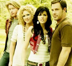 Agent and agency for booking and hiring country music band Little Big Town