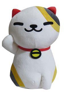 New Banpresto Cat Neko Atsume Manzokusan Kitty Collector Tubbs Big Plush Doll UK