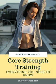 Do you want a tight, toned tummy? Are you managing hip, back, shoulder or neck pain? Do you want to improve your fitness or take your training to the next level? Are you a new mom ready to rebuild your core after having your baby? Do you struggle to enjoy or even complete cardio workouts? Repin and listen to this before you try any core workouts for beginners, for women, for runners at home or at the gym. Plus I'll share how you can get started with proper core strength training. Family Fitness, You Fitness, Fitness Goals, Yoga Videos, Workout Videos, Core Strength Training, Toned Tummy, Gym Workout For Beginners, Injury Prevention