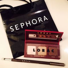 LORAC perfect eye duo  brand new no box LORAC PRO makeup perfect eye duo  Full size 3-in-1 Waterproof eyeliner pencil in chocolate, and a small simmer eyeshadow trio palette in Ivory, Gold and Cocoa.  Perfect for a fashionable traveler  Never tried or swatched.  Just the pencil alone retail for $18. Sephora Makeup Eyeshadow