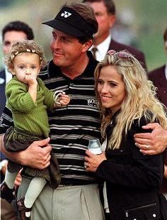 Phil Mickelson and family