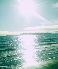 Beach Achao, Playa de  Achao,Sur de Chile