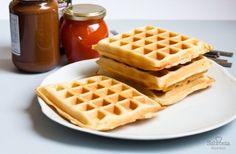 Receta clásica de waffles | Sabrosia.com  #DíaInternacionaldelWaffle