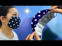 Easy Face Masks, Homemade Face Masks, Diy Face Mask, Sewing Hacks, Sewing Tutorials, Sewing Crafts, Sewing Patterns, Mascara 3d, Sewing Lingerie