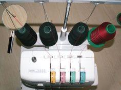 Changer de fil méthode des nœuds Techniques Couture, Couture Sewing, Mode Inspiration, Tips, Alternative, Photos, Decoration, Crochet, Clothing