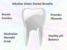 Benefits of Alkaline Ionized Water for Dental Health    Read more: http://www.lifeionizers.com/blog/news-updates/general/alkaline-ionized-water-dental/#ixzz1oSaHlvsN