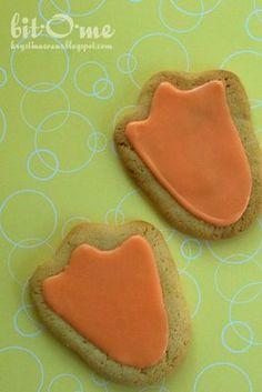 Bit-O-Me: Duck Feet Sugar Cookies