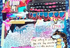 a new year means a new challenge - 30 minutes a day in my art journal — Journal Girl