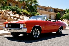 1971 Chevelle SS convertible once owned by Nikki Sixx