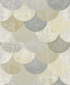 Paxhill by The Paper Partnership - Grey / Gold : Wallpaper Direct Grey And Gold Wallpaper, Gold Wallpaper Living Room, Accent Wallpaper, Copper Wallpaper, Home Wallpaper, Bedroom Wallpaper, Tapete Gold, Gold Office, Contemporary Wallpaper
