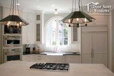 Design Ideas for Kitchen Windows - Door Store and Windows - An arched window design can transform your kitchen and create architectural interest.