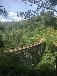 9 arch bridge - Ella Sri Lanka || Click on the photo to discover the most incredible destinations with us :)