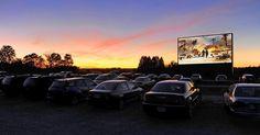Projeto Cine Drive In (cinema no carro) leva experiência vintage ao público de…