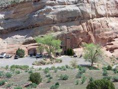 Nature Homes/ Houses Built into the mountain side-Colorado USA.