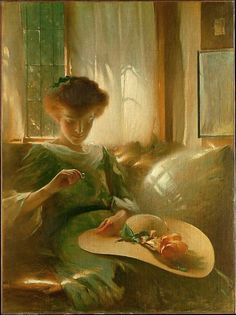 The Ring ~ John White Alexander ~ (American: 1856-1915)