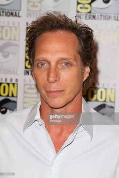 """William Fichtner at Comic Con 2010 in San Diego, CA promoting """"DRIVE ANGRY"""". (at least the watermark is NOT messing up his face!!)"""