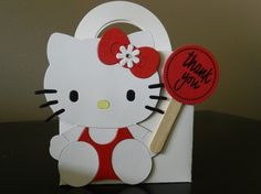 Hello Kitty party favor boxes by Nernstzen on Etsy, $17.00