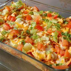 mexican chicken casserole | Weight Watchers Recipes