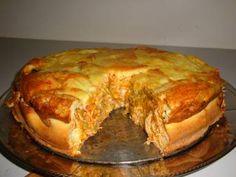 Receita de Torta salgada de liquidificador - Tudo Gostoso