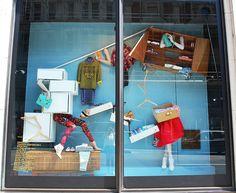 VM Harvey Nichols Window- loving the fun bright colours
