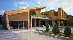 House in Forest by Bracia Burawscy Architekci
