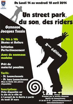 Sortie skateboard et roller. Du 14 au 18 avril 2014 à Louveciennes.