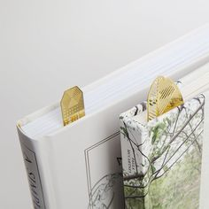 Brass Bookmarker - $18 | LAKE GEORGE {Mark your place stylishly while reading poolside at Sagamore Resort}