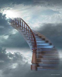 Was er een trap naar de hemel, kwam ik je bezoeken.
