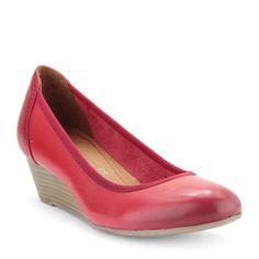 Piros színű éktalpas Tamaris cipő | ChiX.hu cipő webáruház - Chix.hu Online Shoes - http://chix.hu